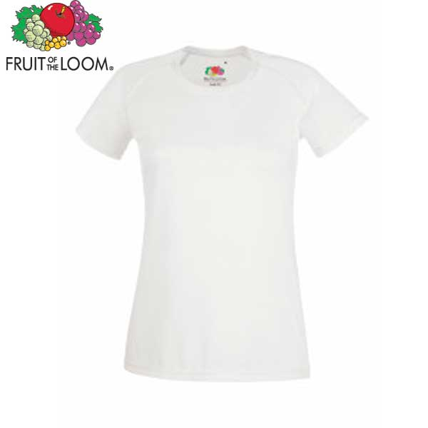fruit of the loom ladies performance t shirt bh1 promotions. Black Bedroom Furniture Sets. Home Design Ideas