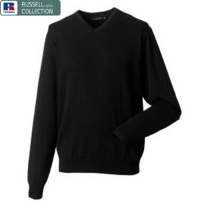 AJ10-Russell-Collection-V-Neck-Knitted-Sweatshirt-1.jpg