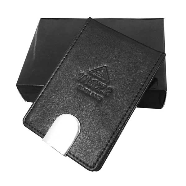 Geneva leather business card case bh1 promotions geneva leather business card case reheart Image collections