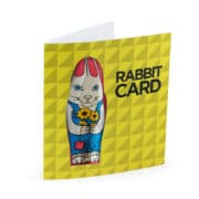 BH0098 Rabbit Card