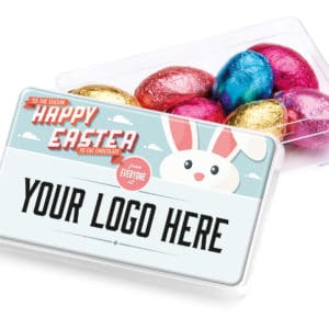BH0321 Easter – Maxi Rectangle – Foil Wrapped Chocolate Eggs
