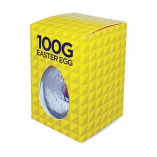 PP-MM34 100g Foiled Milk Chocolate Egg