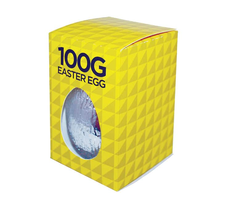 PP-MM34 100g Foiled Milk Chocolate Egg