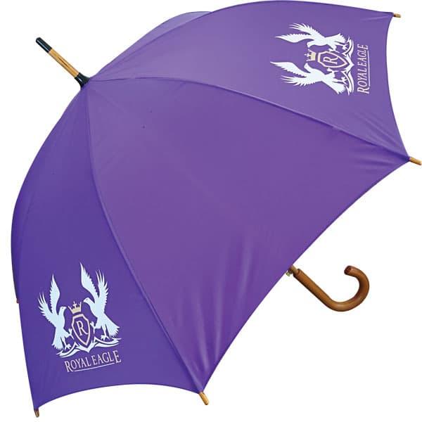 Classic Wood Crook Umbrella