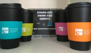 Branded Reusable Travel Mugs - The Gift That Keeps on Giving
