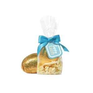 Large Tag Bag – Gold Foil Egg