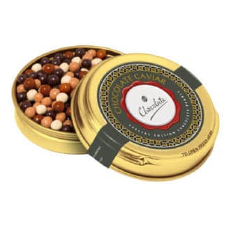 BH0755 Gold Caviar Tin – Special Edition Chocolate Pearls