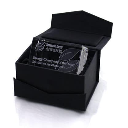 Optical Crystal Rectangle Boxed