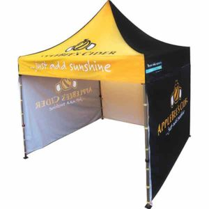 Pop-up branded gazebo