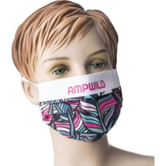 Sublimated Reusable Face Mask 1