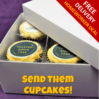 CD6CC 6 Cup Cakes Gift Box